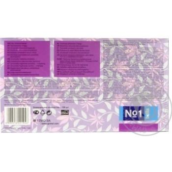 Хустки паперові двошарові універсальні Bella 150шт - купить, цены на Novus - фото 2