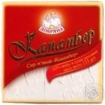 Camembert soft cheese Dobryana with mold 50% 115g