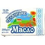 Масло Молокія Селянское сладкосливочное эколин 72.5% 200г - купить, цены на Novus - фото 3