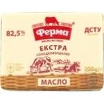 Масло сливочное Ферма Экстра 82,5% 200г