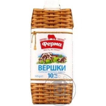 Ferma Select Uht Cream 10% 500 ml - buy, prices for Novus - image 3