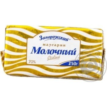 Zaporizkyi Molochnyi Special Margarine 70% 250g - buy, prices for Novus - image 1