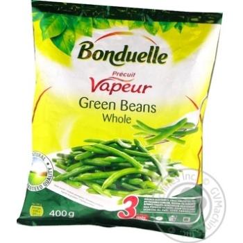 Фасоль Bonduelle зеленая стручковая целая на пару замороженная 400г - купить, цены на Ашан - фото 4