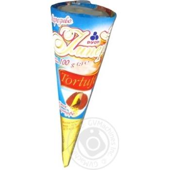 Морозиво Рудь Імперія Ріжок Tortufo 100г - купити, ціни на Фуршет - фото 6