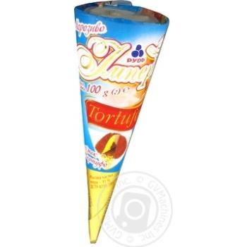Мороженое Рудь Империя Рожок Tortufo 100г - купить, цены на Фуршет - фото 7