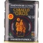 Паприка копчена гірко-солодка Caballo de oros з/б 75г