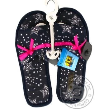 Обувь женская Marizel комнатная Poon-616 - купить, цены на Фуршет - фото 1