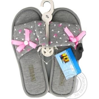 Обувь женская Marizel комнатная Poon-732 - купить, цены на Фуршет - фото 1