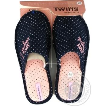 Кімнатні тапочки Twins HS жіночі розмір 36-37 - купити, ціни на Novus - фото 2