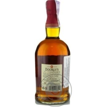 Doorly`s Gold Rum 5YO 40% 0,7l - buy, prices for Novus - image 6