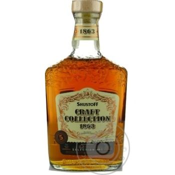 Shustoff Craft Collection 5yrs cognac 40% 0,5l - buy, prices for Novus - image 1