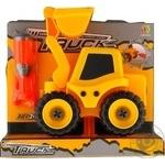Набор игровой Kaile Toys Трактор с экскаваторной установкой