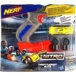 Машинка игрушечная Hasbro Nerf Nitro с пусковым устройством в наборе
