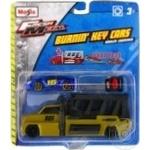 Набір ігровий-трейлер+авто Burnin Key Car Launcher Hauler блістер Maisto 15102