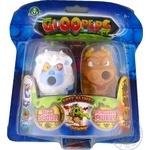 Набор игрушечный Gloopers слизистый монстрик 2шт