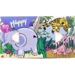 Хустки паперові двошарові універсальні Baby Happy Bella 100шт