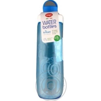 Пляшка тританова Snips, 0,75 л синя - купить, цены на Novus - фото 1