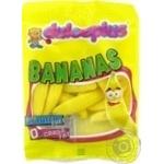 Цукерки жувальні Dulceplus Банани 100г х12
