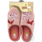 Взуття домашнє жіноче Маскара Gemelli розмір 36-40