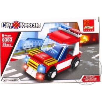 Конструктор пожежне авто Peizhi 0302 - купити, ціни на Novus - фото 1