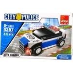 Конструктор Peizhi полицейское авто 0308