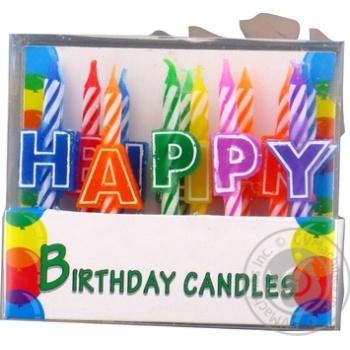 Свічки для торту Heppi 13шт Koopman - купити, ціни на Novus - фото 3