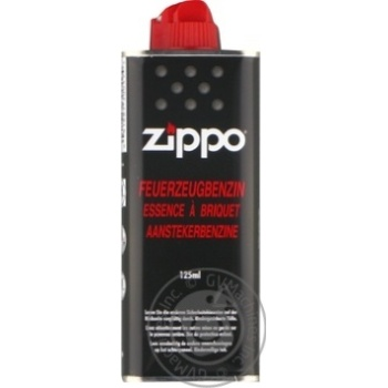 Бензин для зажигалок Zippo 125мл