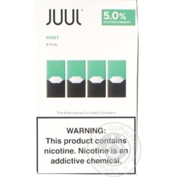 Juul Mint Cartridge 5% 4pcs - buy, prices for Novus - image 1