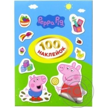 Pero Peppa Pig 120672 Stickers 100pcs - buy, prices for Novus - image 1
