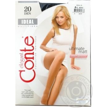Колготки жін Ideal Conte Eleg 20 р4 Nero - купити, ціни на Фуршет - фото 1