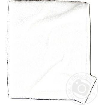 Рушник махровий білий 400 гр/кв.м 40*70см - купити, ціни на Novus - фото 2