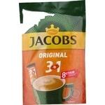 Напиток кофейный растворимый Jacobs 3в1 Original 8штх12г