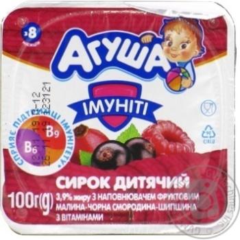 Сырок детский Агуша Иммунит 3,9% 100г - купить, цены на Novus - фото 2