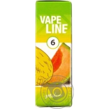 Рідина Vape Line д/елек.сигарет Диня 6мг 10мл - купити, ціни на МегаМаркет - фото 1