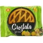 Пирог песочный ХБФ Бисквит-Шоколад Crostata Лимон 50г х60