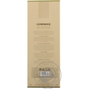 Glenmorangie Nectar d'Or 12 years whisky 46% 0.7l - buy, prices for Novus - image 6