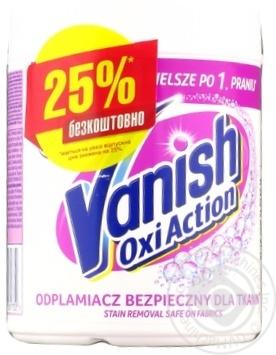 Скидка на Пятновыводитель и отбеливатель Vanish Oxi Action Gold 470г