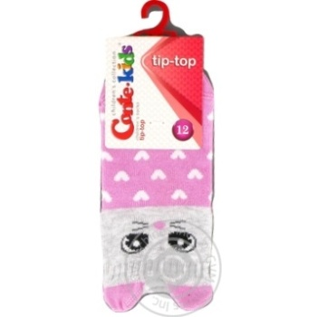Носки хлопчатобумажные Conte-Kids tip-top детские 12р - купить, цены на СитиМаркет - фото 3