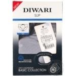 Труси чоловічі DiWaRi Basic Msl 128, розмір 110,114/XXL, fumo