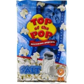 Top of Pop Salt Flavor Popcorn for Microwave Oven 100g - buy, prices for Novus - image 2