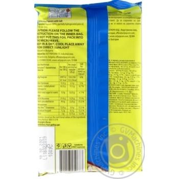 Top of Pop Salt Flavor Popcorn for Microwave Oven 100g - buy, prices for Novus - image 3