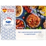 Seafood shrimp Delfin with chickpeas precooked 300g - buy, prices for Novus - image 1