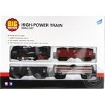 Набор игровой Big Motors Железная дорога с 3 вагонами