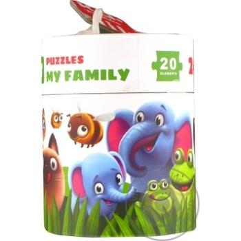 Пазлы Левеня Моя семья 13531 - купить, цены на Фуршет - фото 5