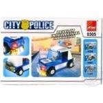 Конструктор поліцейське авто Peizhi 0305