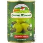 olive Dolina jelaniy green pitted 260g can