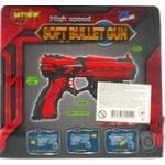 Іграшкова зброя Бластер 6-зарядний Арт. FJ801 - купить, цены на МегаМаркет - фото 2