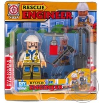 Набор игрушечный Space Baby Rescue Engineer фигурка-конструктор с аксессуарами в ассортименте - купить, цены на Novus - фото 1