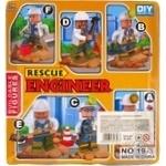 Набор игрушечный Space Baby Rescue Engineer фигурка-конструктор с аксессуарами в ассортименте - купить, цены на Novus - фото 2