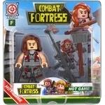 Набір іграшковий Space Baby фігурка-конструктор з аксесуарами серії Combat Fortress в асортименті